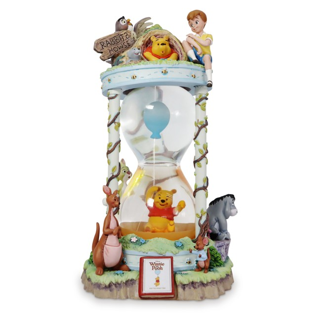 Winnie the Pooh and the Honey Tree 55th Anniversary Hourglass Snow Globe – Limited Edition