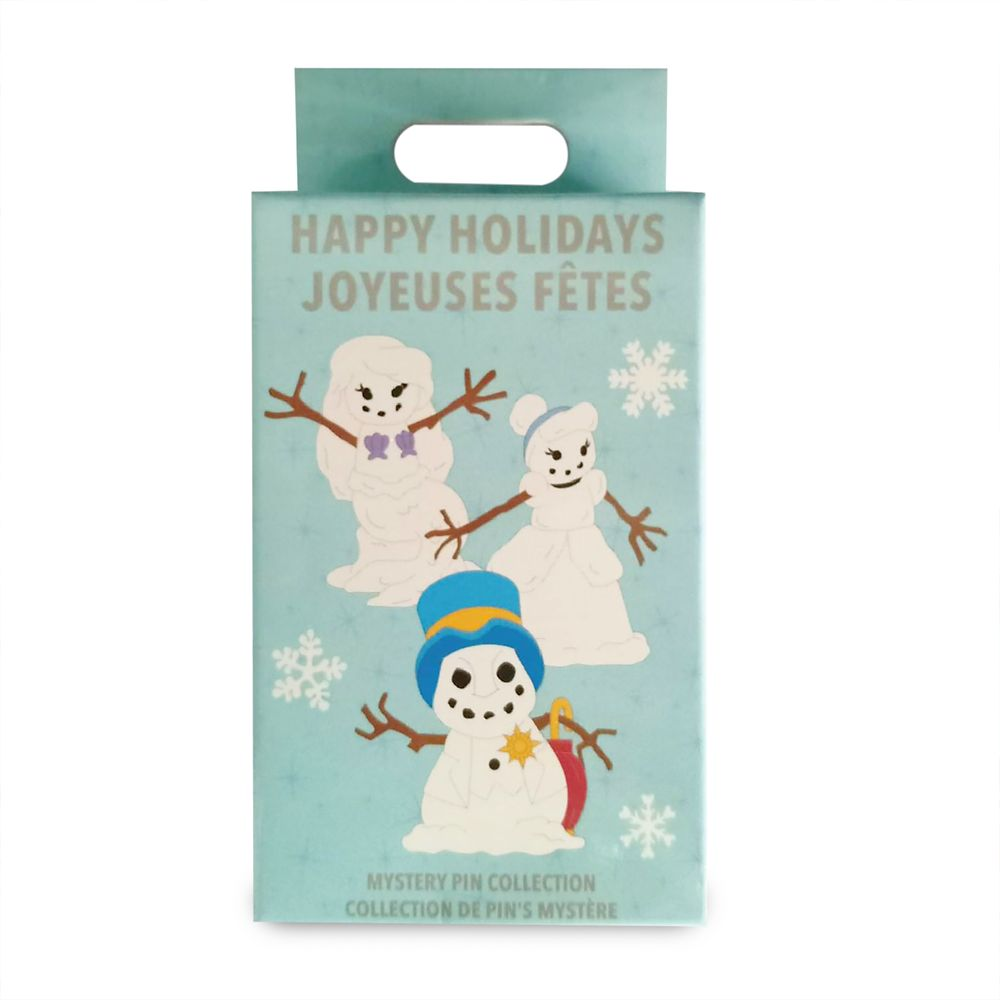 Disney Snowman Mystery Pin Pack