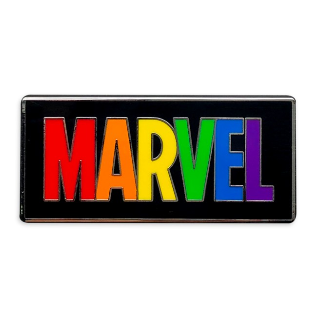 Marvel Logo Pin – Rainbow Marvel Collection
