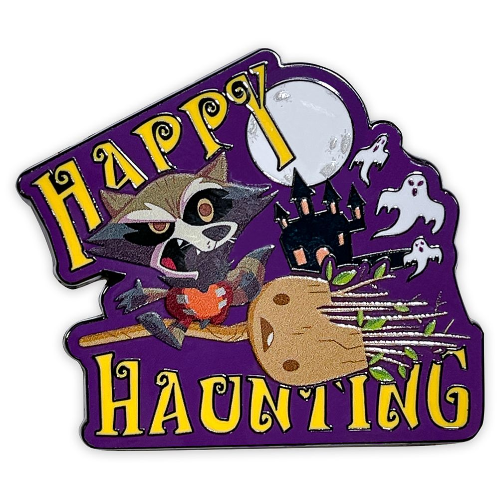 Rocket and Groot Halloween Pin – Guardians of the Galaxy