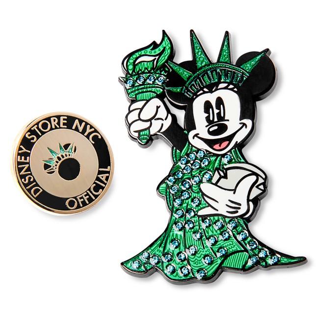 Minnie Mouse Lady Liberty Pin Set – New York