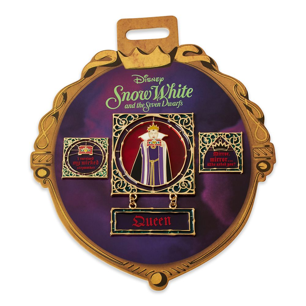 Evil Queen Pin Set  Snow White and the Seven Dwarfs Official shopDisney