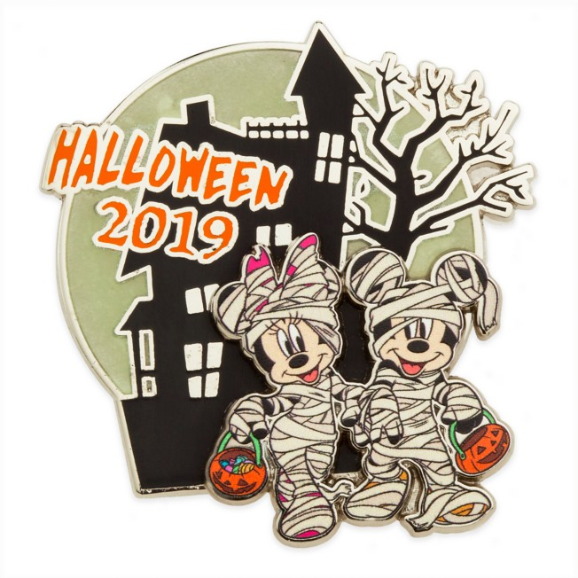 Mickey and Minnie Mouse Pin – Halloween 2019 – Limited Release