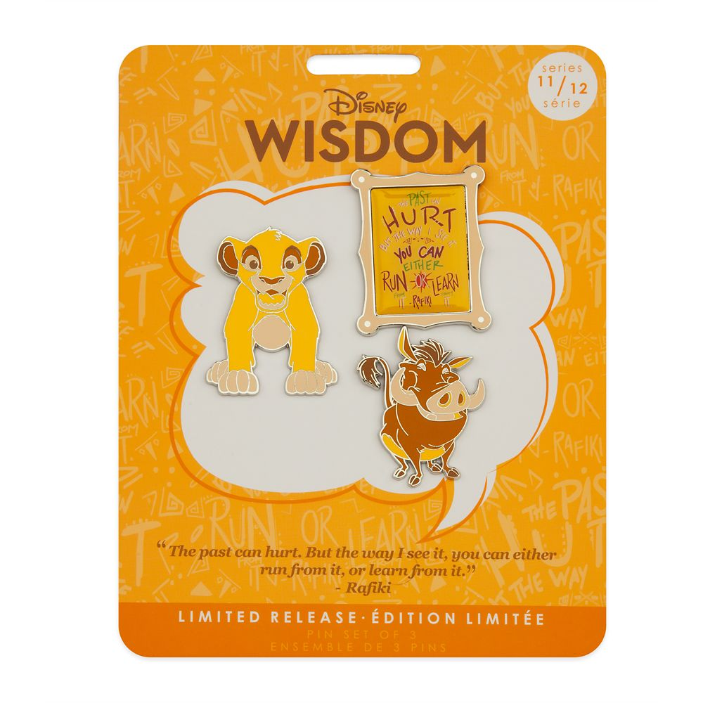 Disney Wisdom Pin Set – Simba – The Lion King – November – Limited Release