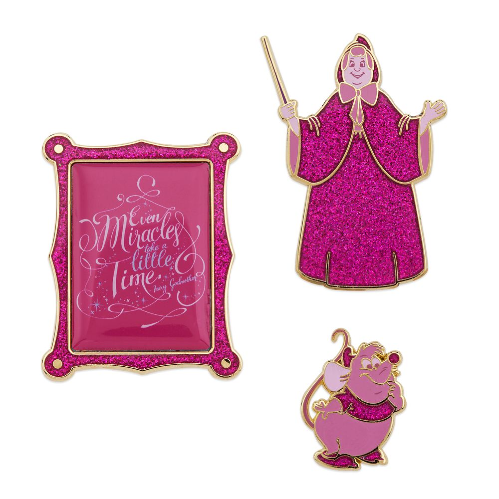 Disney Wisdom Pin Set – Fairy Godmother – Cinderella – December – Limited Release