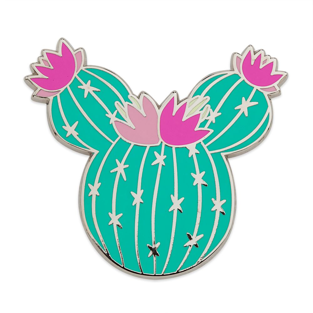 Minnie Mouse Cactus Gift Pin