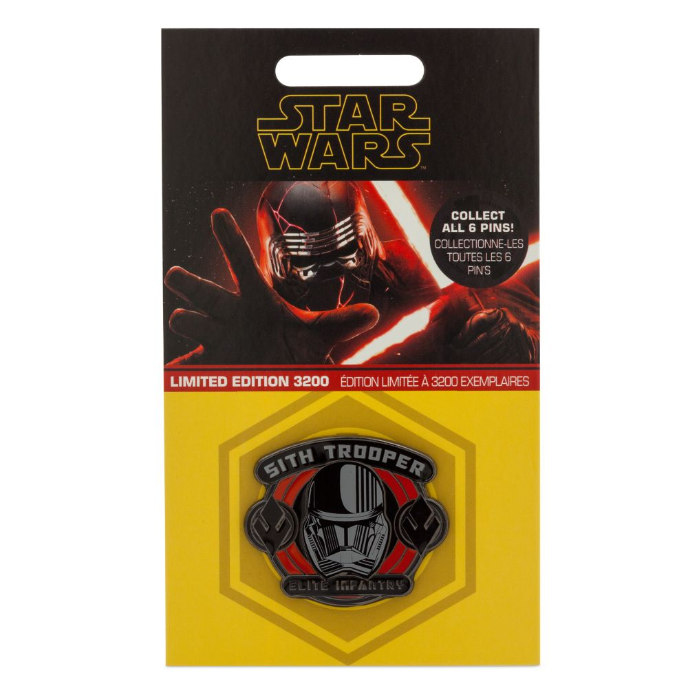 Sith Trooper Pin – Star Wars: The Rise of Skywalker – Limited Edition
