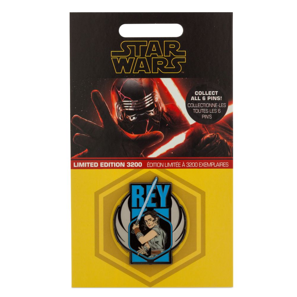 Rey Pin – Star Wars: The Rise of Skywalker – Limited Edition