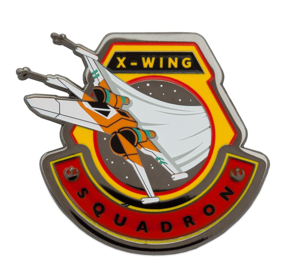 X-Wing Fighter Pin – Star Wars: The Rise of Skywalker – Limited Edition