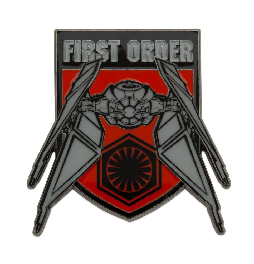 Kylo Ren TIE Fighter Pin – Star Wars: The Rise of Skywalker – Limited Edition