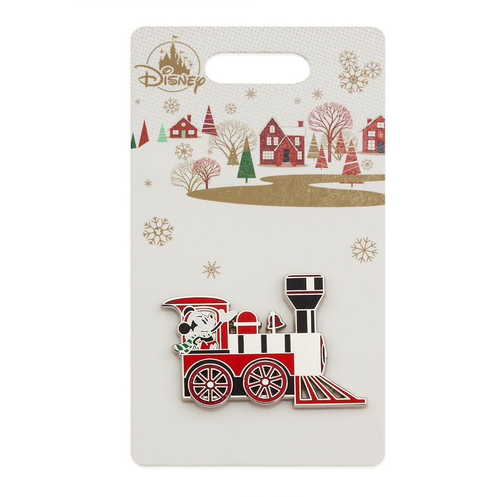 Mickey Mouse Holiday Train Pin