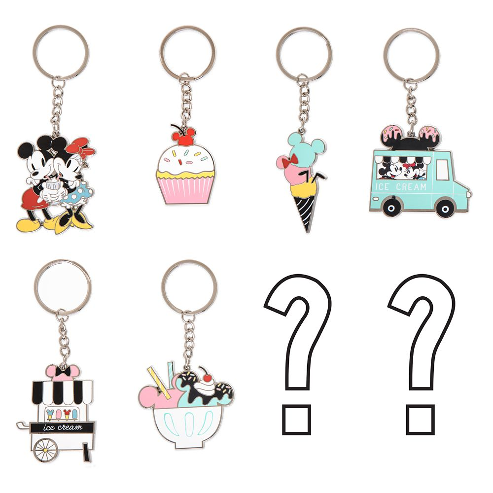 Disney Eats Mystery Keychain