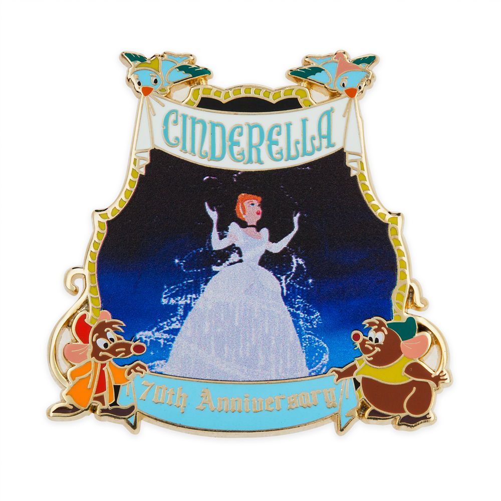 Cinderella Pin – 70th Anniversary – Limited Release