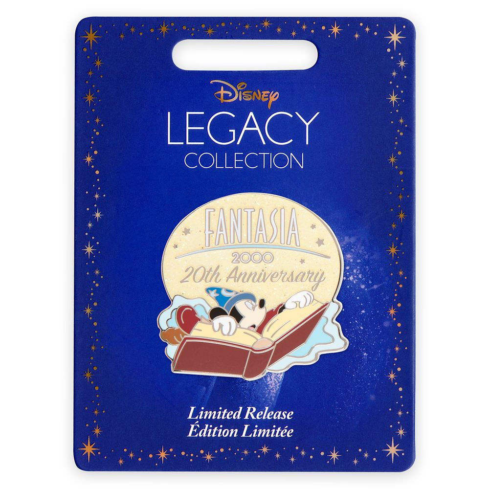 Fantasia 2000 Pin – 20th Anniversary – Limited Release