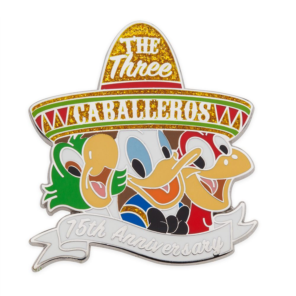 The Three Caballeros Pin – 75th Anniversary – Limited Release