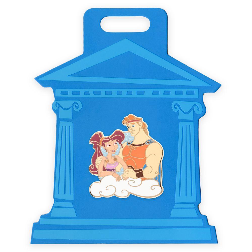 Hercules and Megara Pin