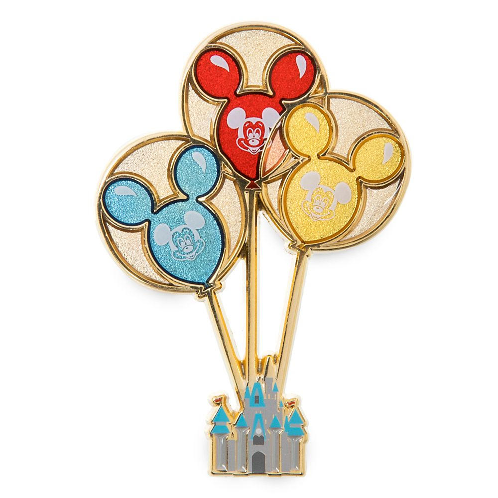 Mickey Mouse Balloons Pin