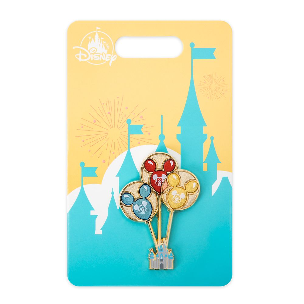 Mickey Mouse Balloons Pin