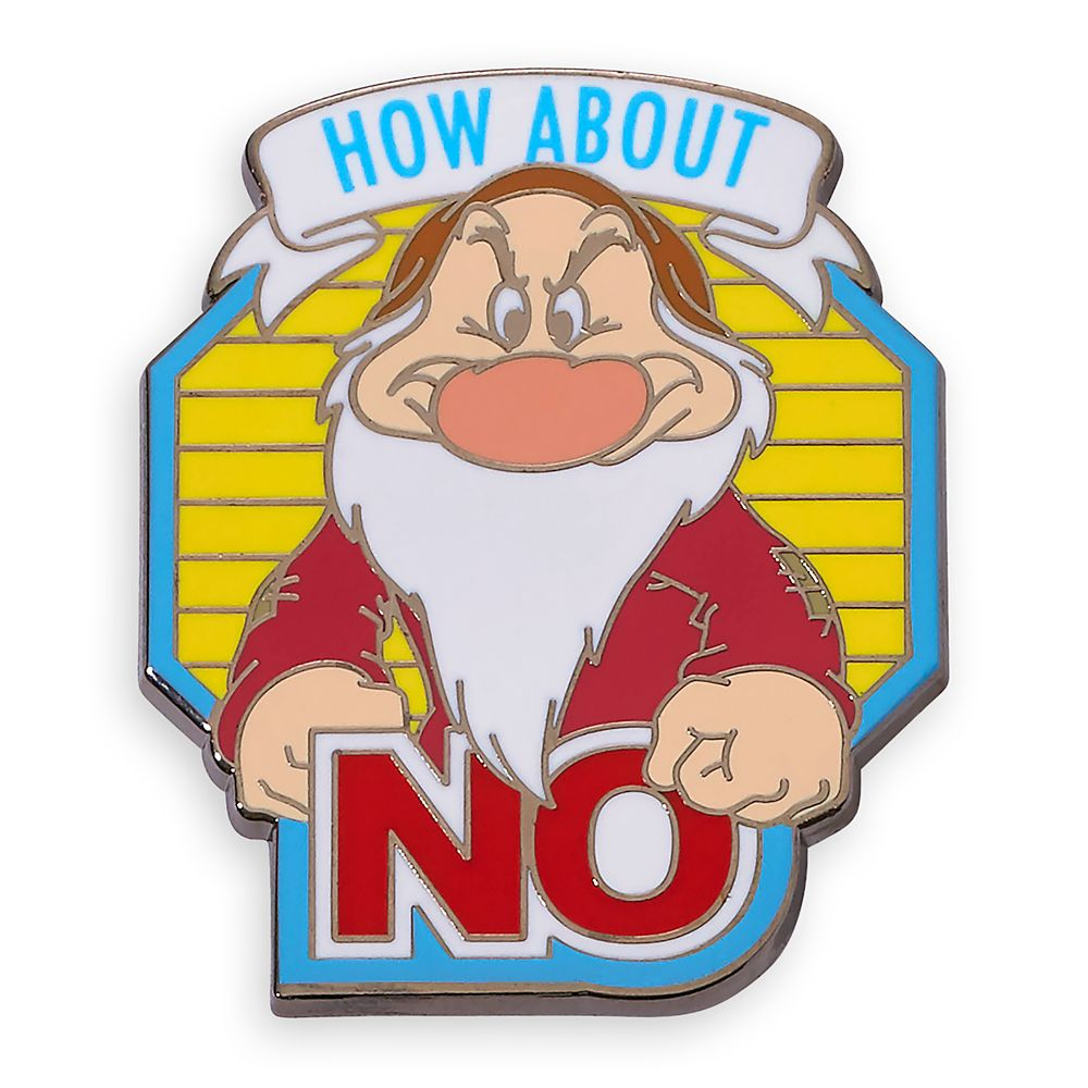 Grumpy Pin – Snow White and the Seven Dwarfs