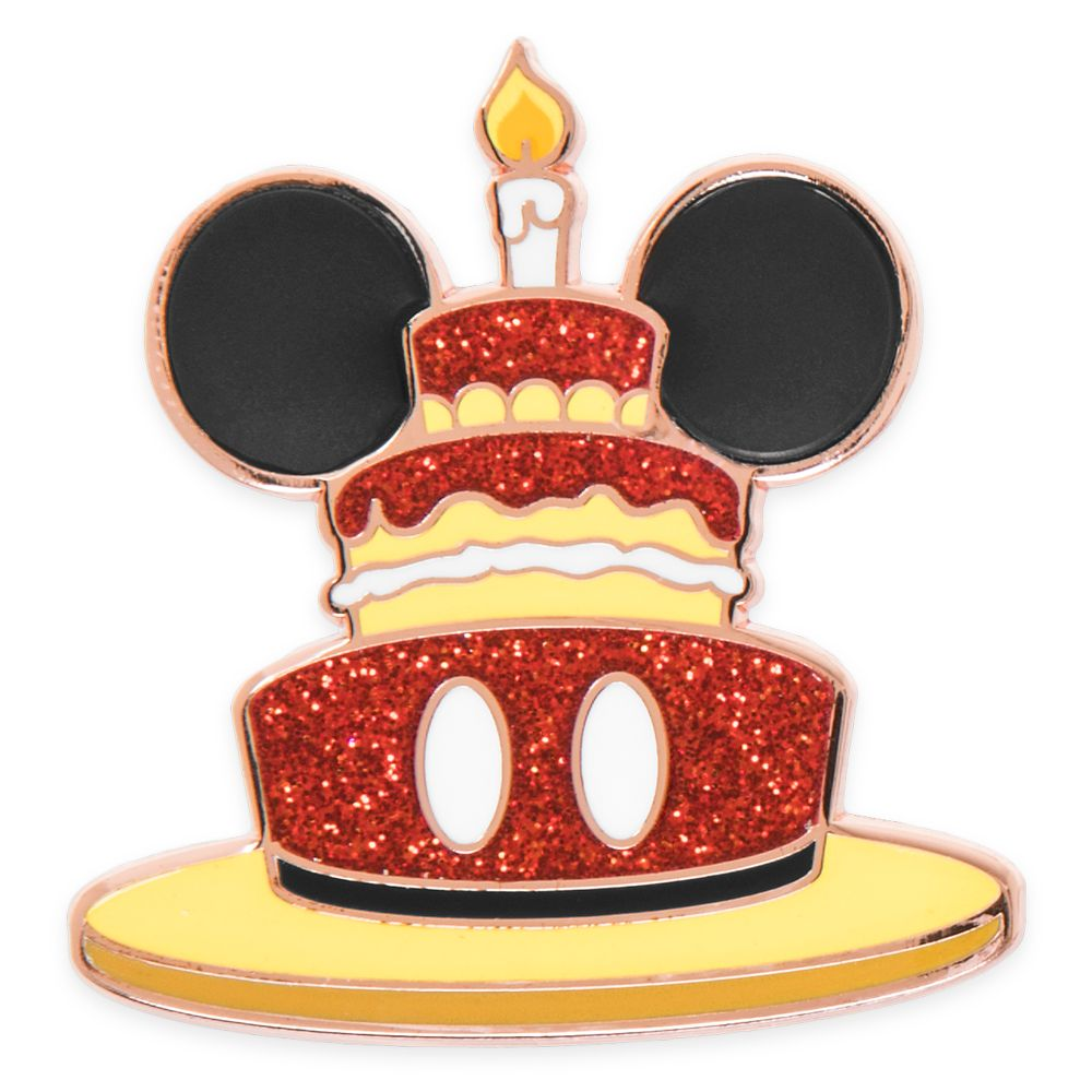 Mickey Mouse Pin – Happy Birthday