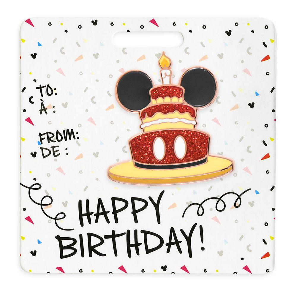 Mickey Mouse Pin – Happy Birthday