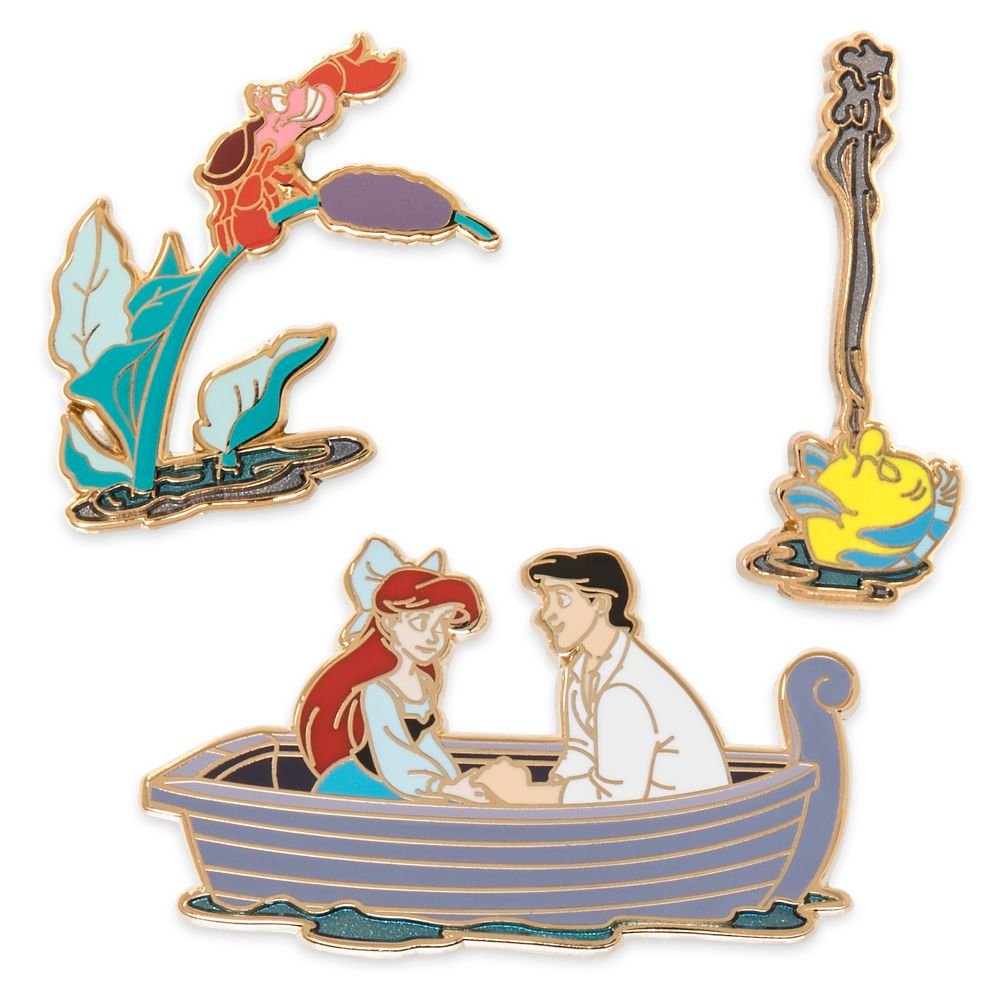 The Little Mermaid Pin Set – Kiss the Girl