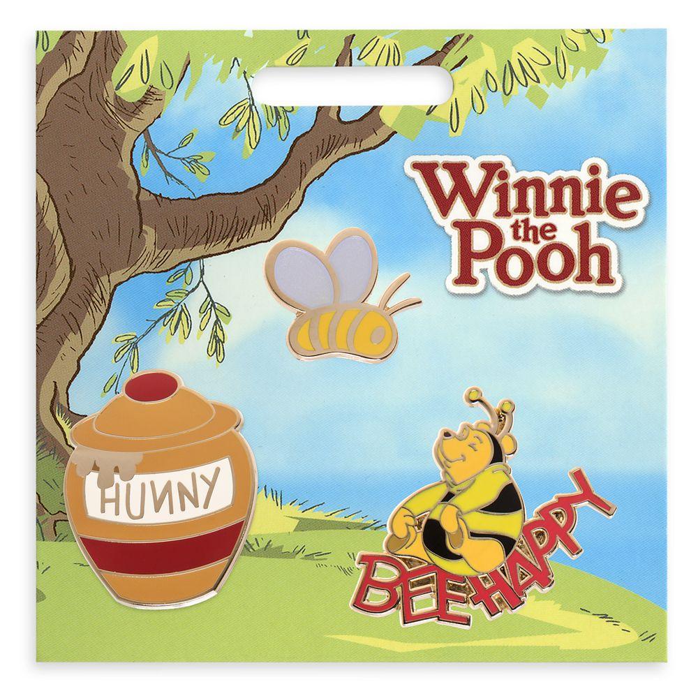 Winnie the Pooh Pin Set