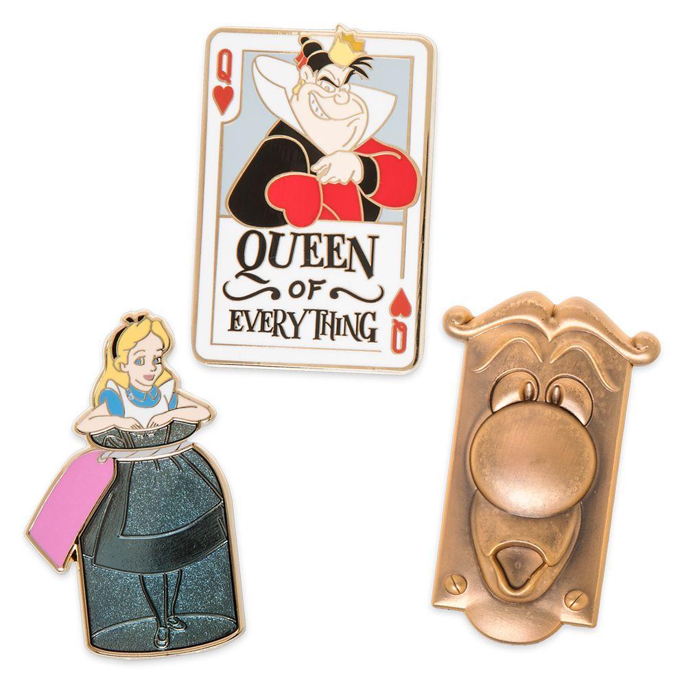 Alice in Wonderland Pin Set Official shopDisney