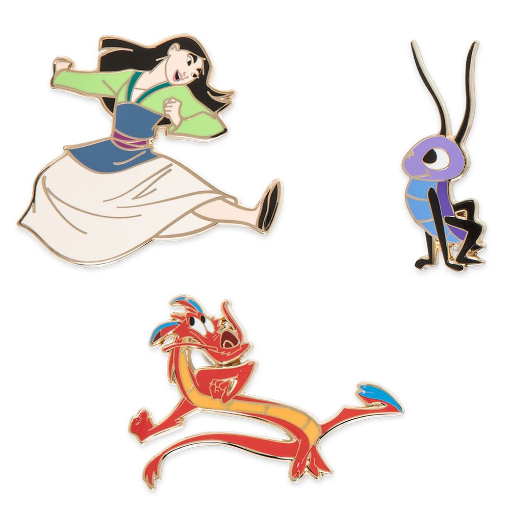 Mulan Pin Set