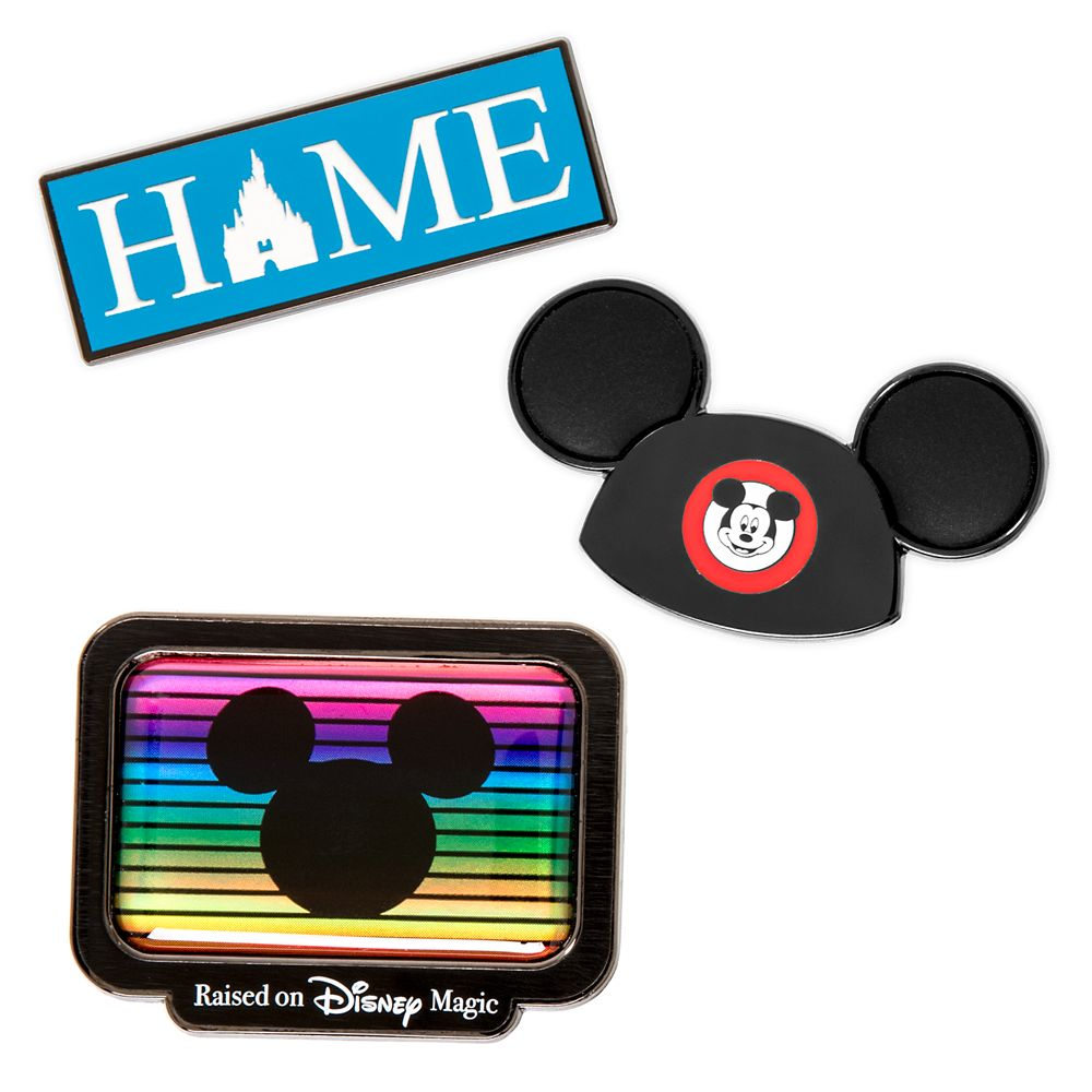 Disney Television Pin Set