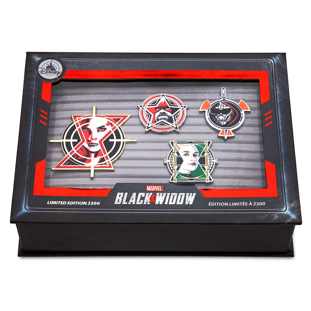 Black Widow Pin Set – Limited Edition