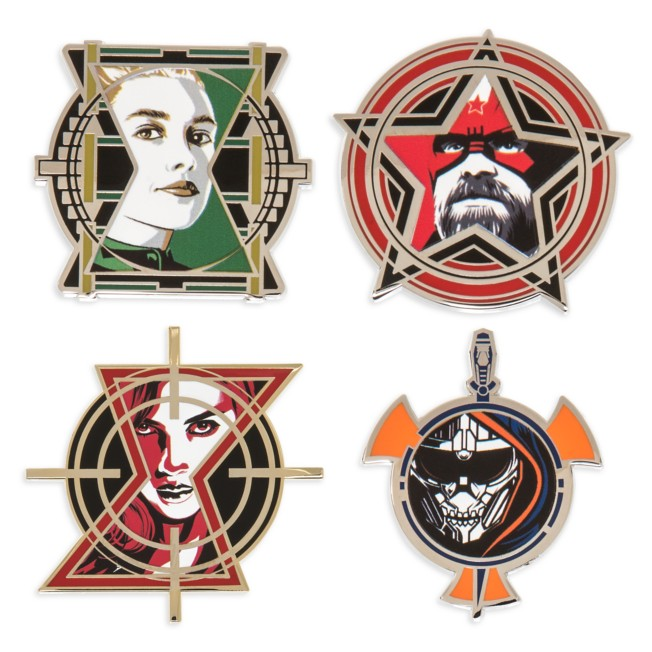 Black Widow Pin Set – Limited Edition
