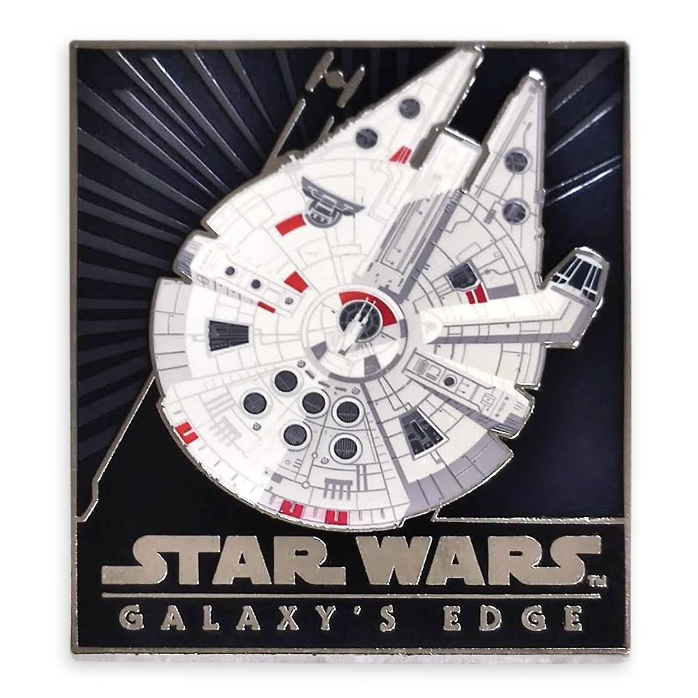 Star Wars: Galaxy's Edge Millennium Falcon Pin – Limited Release