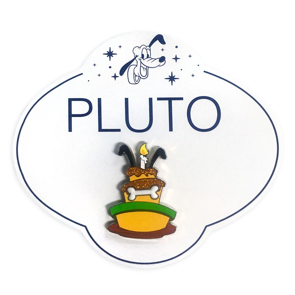 Pluto 90th Anniversary Cake Pin
