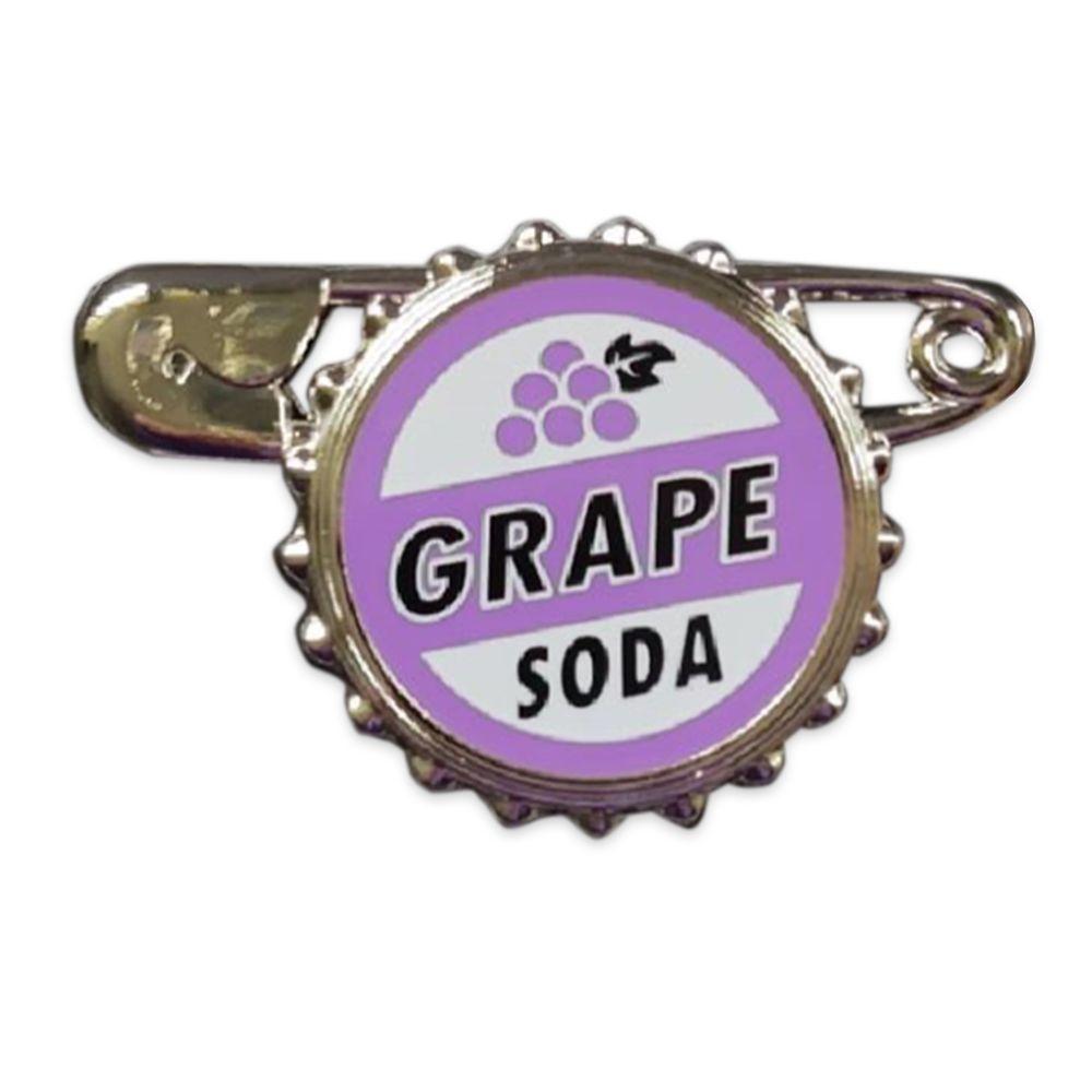 Grape Soda Bottlecap Gift Pin – Up