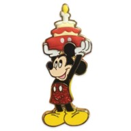 Mickey Mouse Flair Birthday Pin