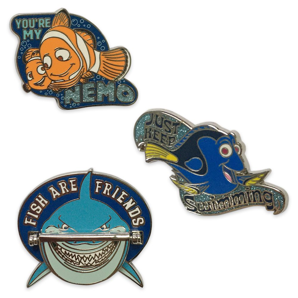 Finding Nemo Flair Pin Set