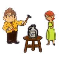 Carl & Ellie Flair Pin Set – Up
