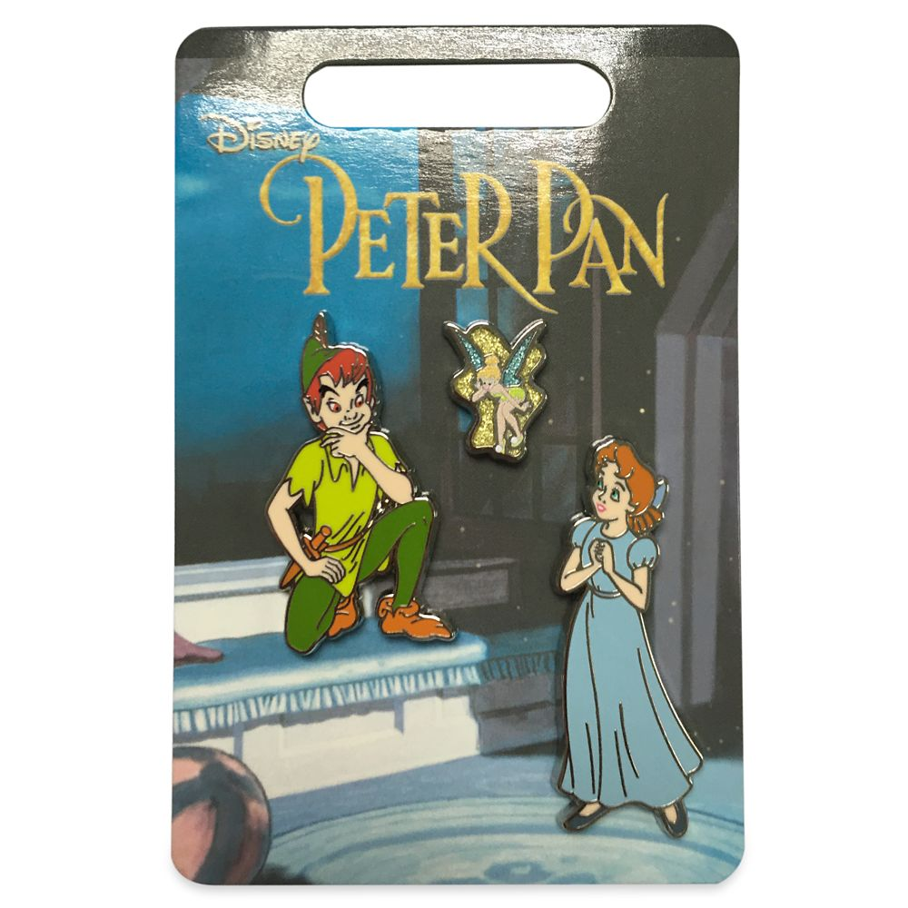 Peter Pan Flair Pin Set