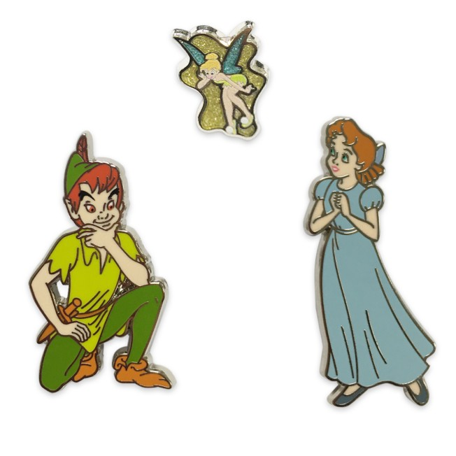 Peter Pan Flair Pin Set