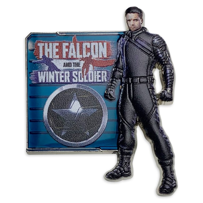 Winter Soldier 3D Pin – The Falcon and the Winter Soldier – Limited Release