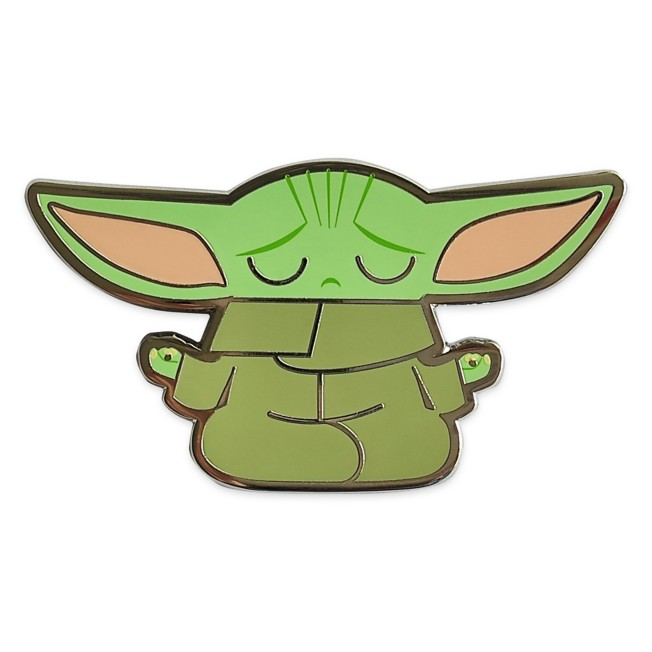 The Child Pin in Zen Pose – Star Wars: The Mandalorian – Limited Release
