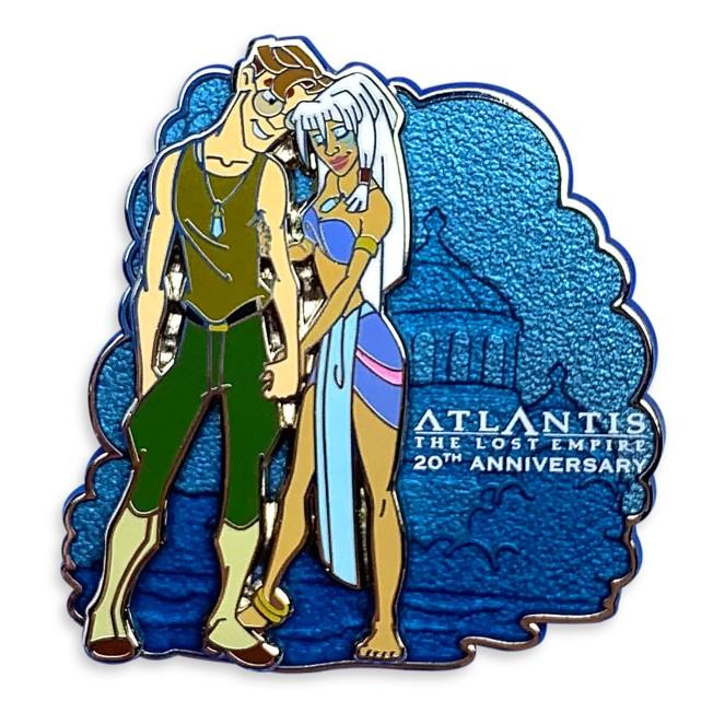 Atlantis: The Lost Empire Pin – 20th Anniversary – Limited Release