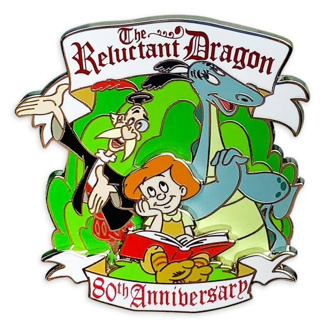 The Reluctant Dragon Pin – 80th Anniversary – Limited Release