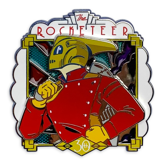The Rocketeer Pin – 30th Anniversary – Limited Release