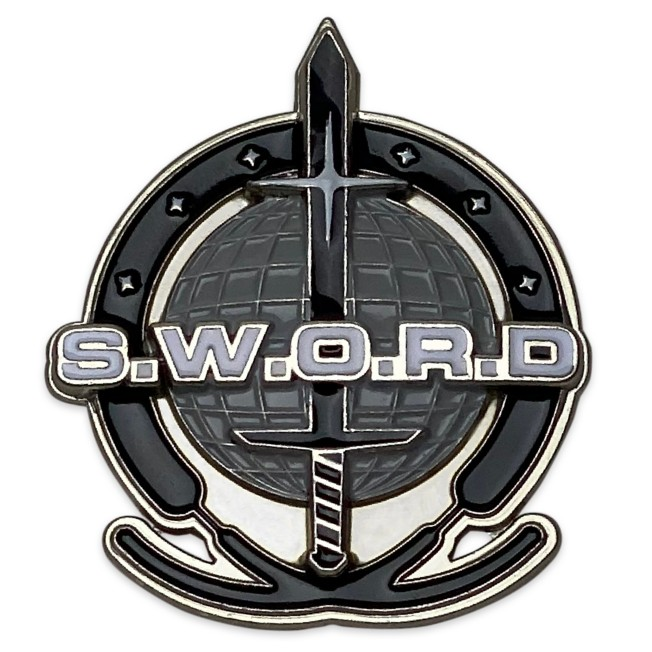 WandaVision S.W.O.R.D. Logo Pin – Limited Release