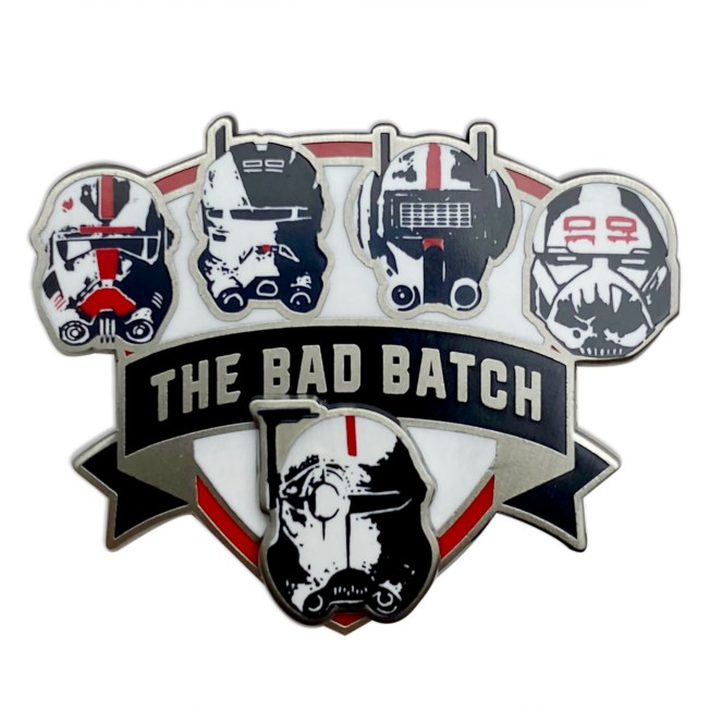 Star Wars: The Bad Batch Helmet Pin – Limited Release