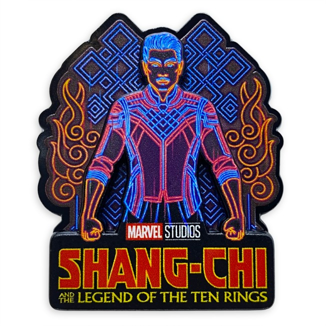 Shang-Chi and the Legend of the Ten Rings Logo Pin – Limited Release