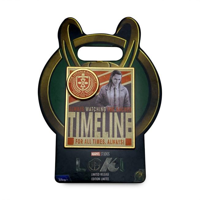Loki Timeline Pin – Limited Release