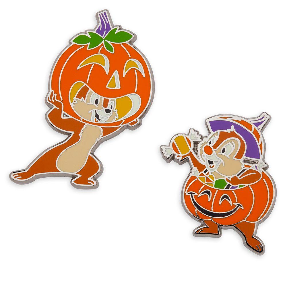 Chip 'n Dale Halloween Pin Set